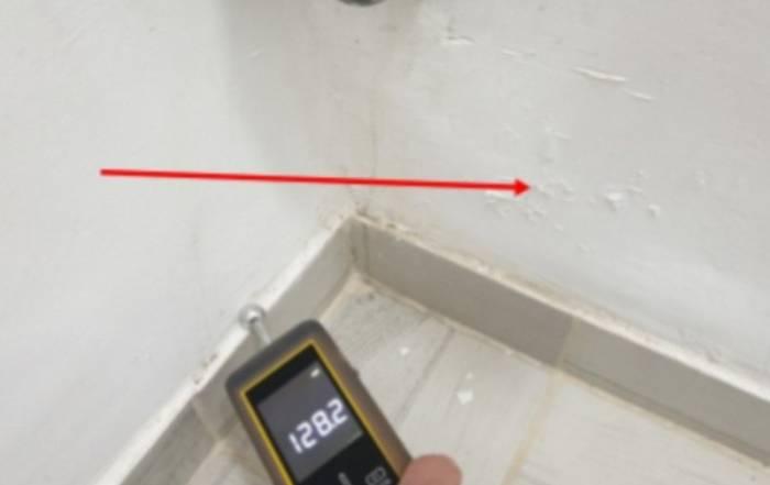 מהנדס לבדק בית - לחות בקירות דירה