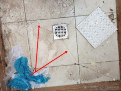פרוטוקול מסירת דירה מקבלן - שברים ושריטות במרצפות